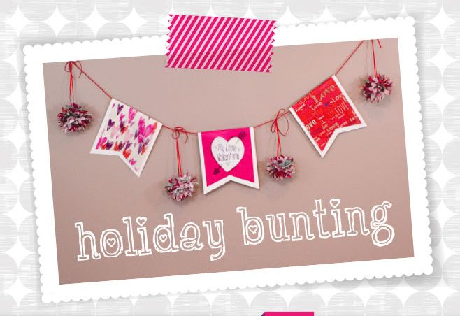 Digiwrap |   6 DIY Valentines Decorations Made with Tissue Paper!
