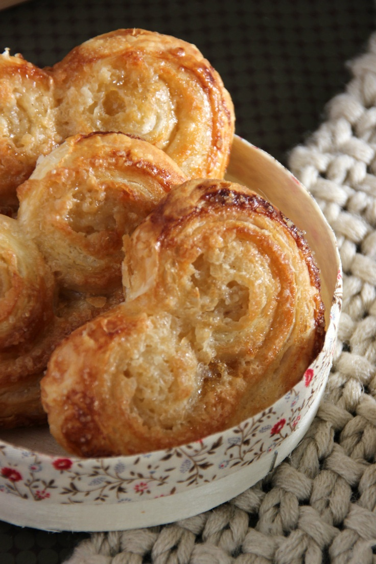 Palmiers- I'm making these tonight. Super easy! Find the recipe here: http://abc.go.com/shows/the-chew/recipes/Palmiers-Carla-Hall