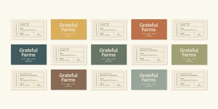 Brand New New Logo And Identity For Grateful Farms By Ghost