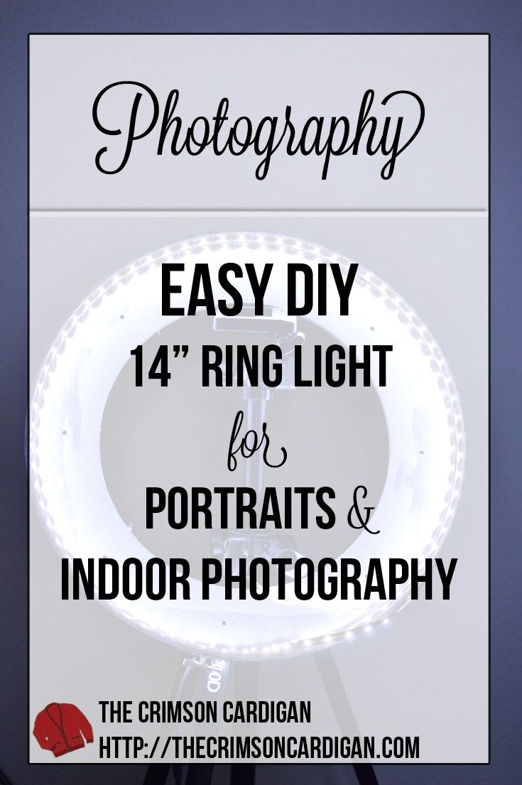 DIY RING LIGHT | An affordable and safer option compared to fluorescent ring lights.
