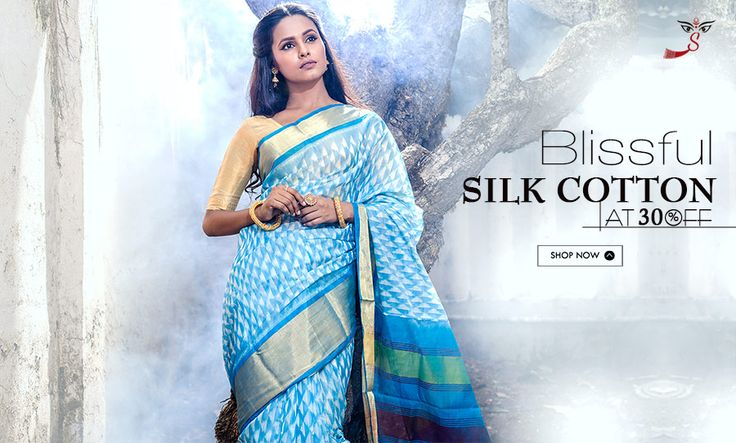 Launched for the festival: #SilkCottonSarees at 30% OFF!
