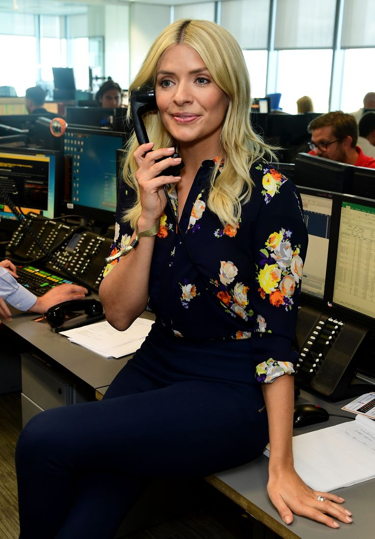 Holly Willoughby during the 13th BGC Annual Charity Day (Ian West/PA)
