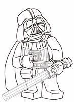 kolorowanki Lego Star Wars Darth Vader, malowanka do wydruku numer  2