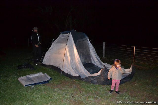 Austravelia: Wirreanda Campground: Freezing Birthday night in  ...