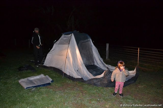 Austravelia: Wirreanda Campground: Freezing Birthday night in  ...
