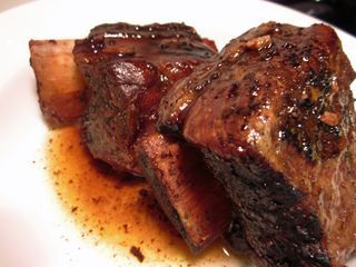 Balsamic Glazed Short Ribs; I guess I just refuse to follow directions ...