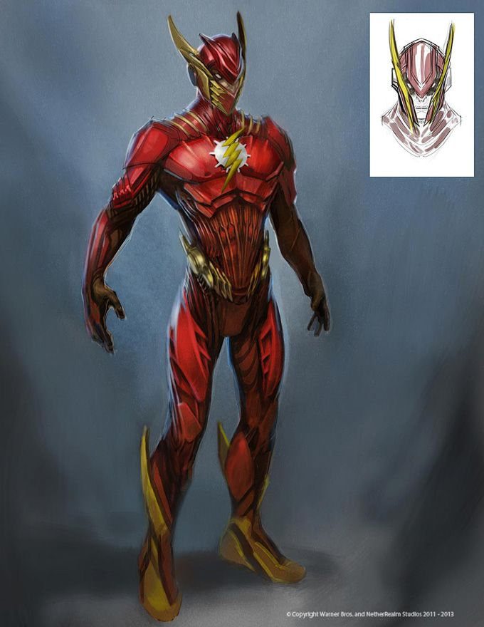 Injustice Gods Among Us Concept Art: What if The Flash, Wonder Woman, Aquaman and Nightwing Looked Like This in a Movie?! | moviepilot.com