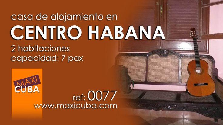Centro Habana. Apartamento ubicado entre Centro Habana, Vedado y Cerro