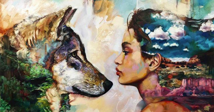 Hon började måla för 4 år sedan. I dag får 16-åriga Dimitra tiotusentals att häpna.