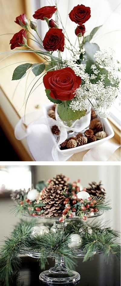 arreglos naturales para Navidad