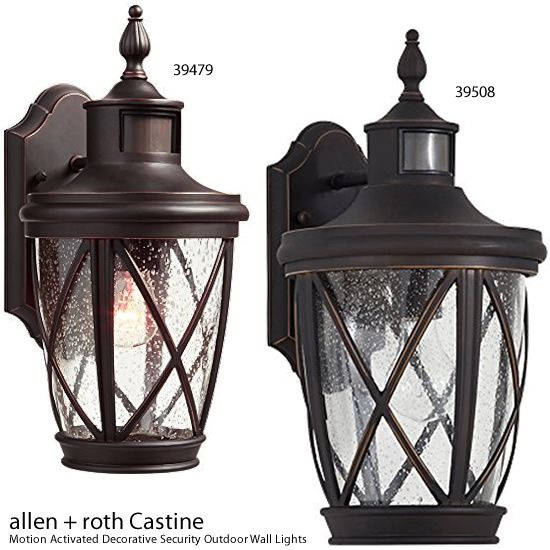 Allen Roth 39479 39508 Castine Motion Activated Decorative