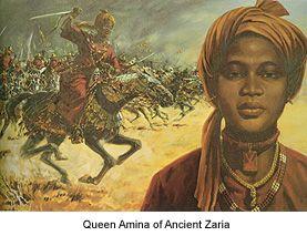 #QueenAminah | Black History Heroes: Queen Amina of Zazzau: A West African Warrior Queen