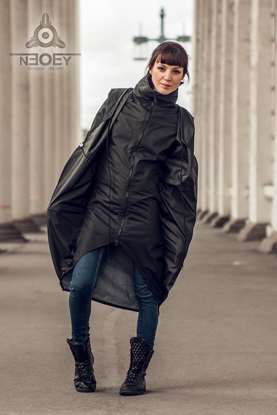 Black Friday!  10% discount on all products in black colour. Black futuristic Jacket Inku zith zipp by NEOBY от NEOBYdc
