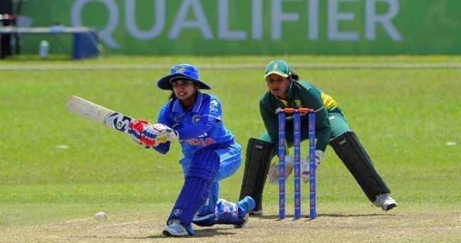 Opener Smriti Mandhana's superb fifty and the pace duo of Jhulan Goswami and Shikha Pandey combining for seven wickets, guided the Indian women's team to a 88-run win over South Africa in the first of the three-match ODI rubber.