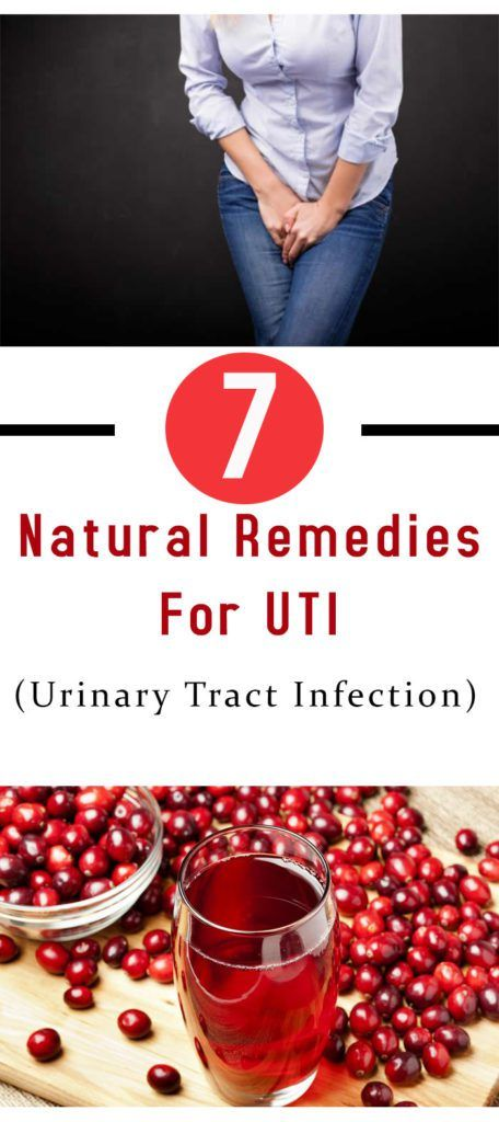 7 Natural Remedies For UTI (Urinary Tract Infection) #health #remedy #diy #fitness #uti #beauty #girl