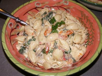 Dinner-A-Day: Garden Chicken Alfredo