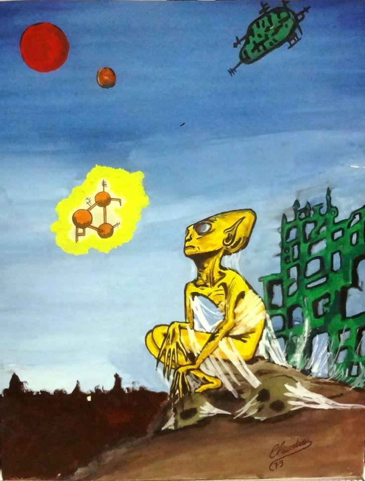Pensamento de um ET
