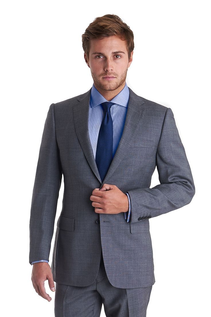 Savoy Tailors Guild Exclusive Regular Fit Mix and Match Check Jacket Grey