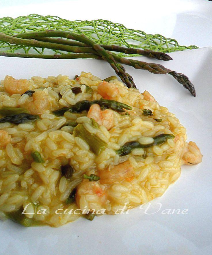 Risotto asparagi e gamberetti ricetta con bimby e senza