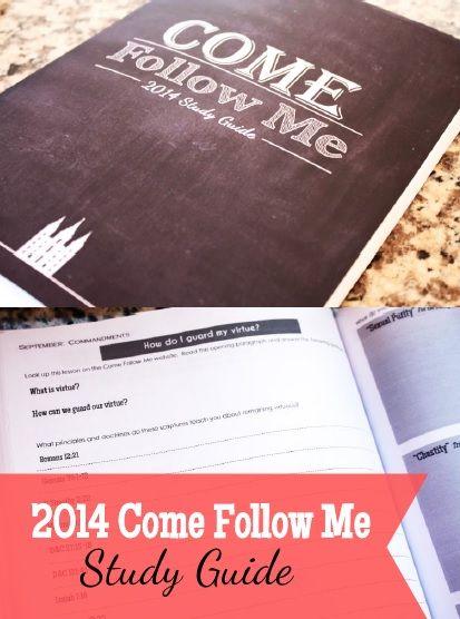 Study guide for the Come Follow Me Curriculum!  137 Gospel gopics!