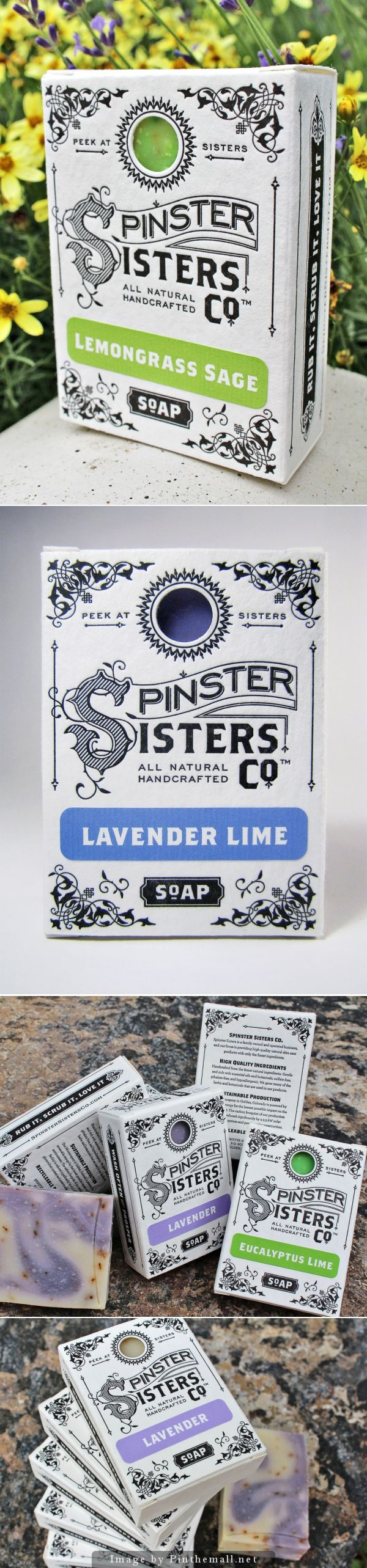 Spinster Sister Co. Soap Bar designed by Andrew Cruz