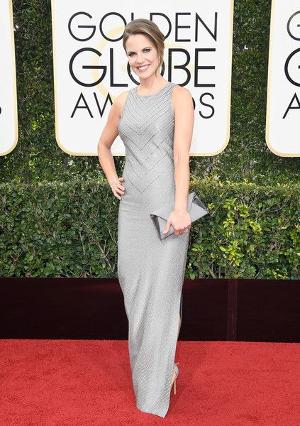Natalie Morales - Every Best Dressed Look from the 2017 Golden Globes - Photos