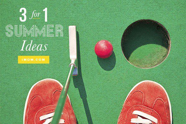 Try these 3 for 1 Summer Ideas! We'll show you how to get the most out of one outing.