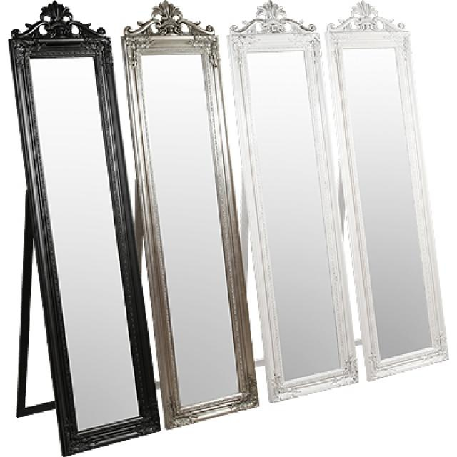 Full length mirror made from old door frames sids ideas for Full length mirror with mirror frame