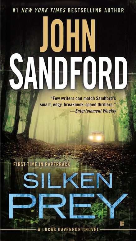 SILKEN PREY by John Sandford -- Murder. Scandal. Politics. And one billionaire heiress so dangerous in so many ways. It's the explosive new Lucas Davenport thriller from the #1 New York Times bestselling author.
