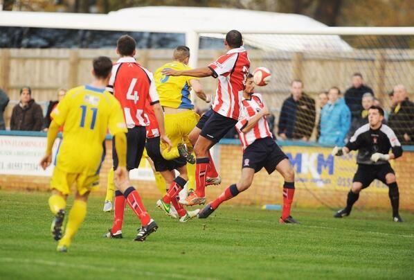 Ryan Fryatt scores vs Witton Albion 16/11