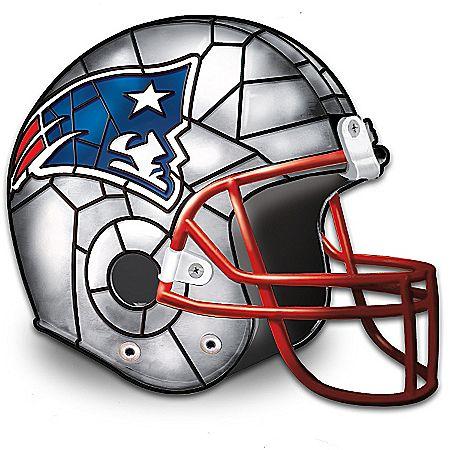 NFL Licensed New England Patriots Football Helmet Lamp