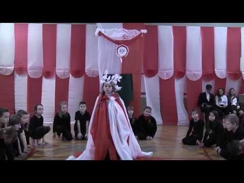 Narodowy Dzień Niepodległości w naszej szkole - teatr tańca klasy IIIc - YouTube