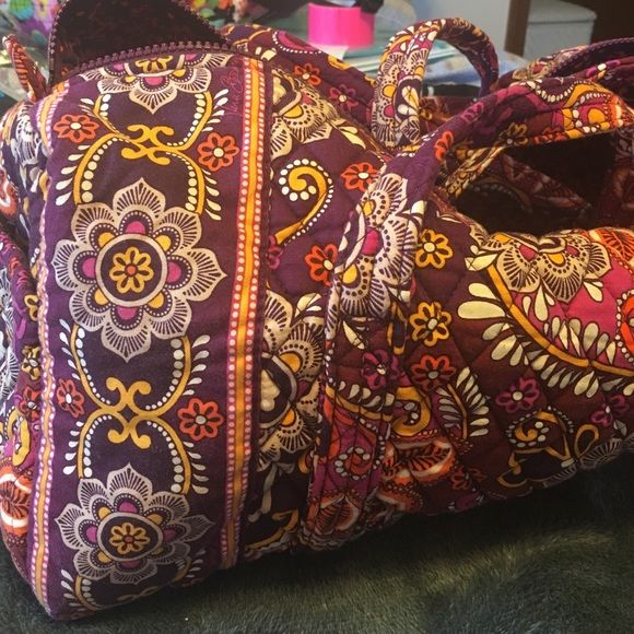 Safari Sunset Vera Bradley small duffle bag Hardly used retired Safari Sunset Vera Bradley small duffle bag. Great condition. No stains or rips. Ready for your next trip!  Vera Bradley Bags Travel Bags