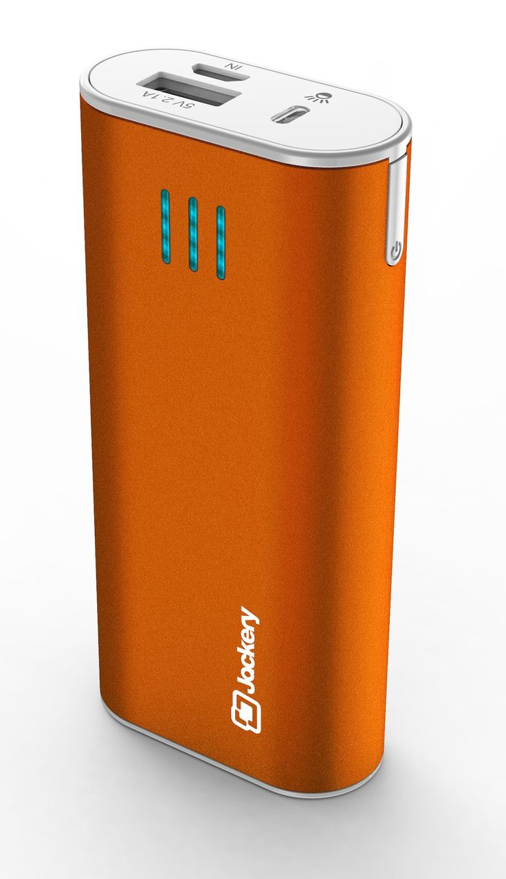 Jackery Bar Premium Fast-charging Aluminum Portable Charger 6000mAh External Battery Backup Power Bank. Compact Design, High Capacity. For Apple iPhone 5S, 5C, 5, 4S, iPad, Air, Mini, Samsung Galaxy S4, S3, Note, Nexus, LG, HTC. (Orange): Amazon.ca: Cell Phones & Accessories