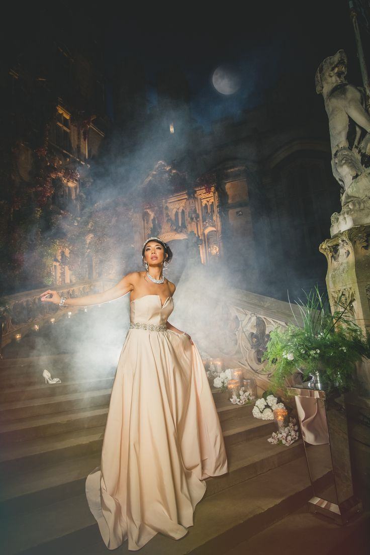 Cinderella at the stunning Yorkshire wedding venue Carlton Towers, this and many more fabulous images featured in our Disney Princesses Re-Defined shoot. See the full feature here nubride.com/...