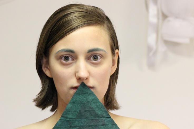 green triangle  #odderhojskole #fashion