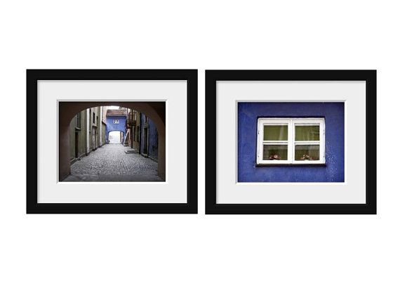 Warsaw - Poland - Europe  set of 2 photos get 25% off fine art photography travel print wall decor cobalt blue europe photography 4x6 5x7 6x8 8x10 8x11 10x15  https://www.etsy.com/listing/177578711/set-of-2-photos-get-25-off-fine-art?ref=shop_home_active_4