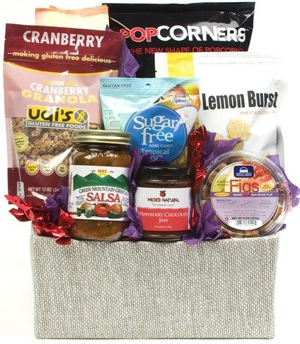 Best 25 gluten free gift baskets ideas on pinterest family the gluten free basket from daves gift baskets offers an assortment of dried fruit jam salsa and popcorn for those with dietary restrictions negle Choice Image
