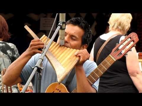 Simon & Garfunkel - Sounds of Silence on pan flutes by Jorge Inti