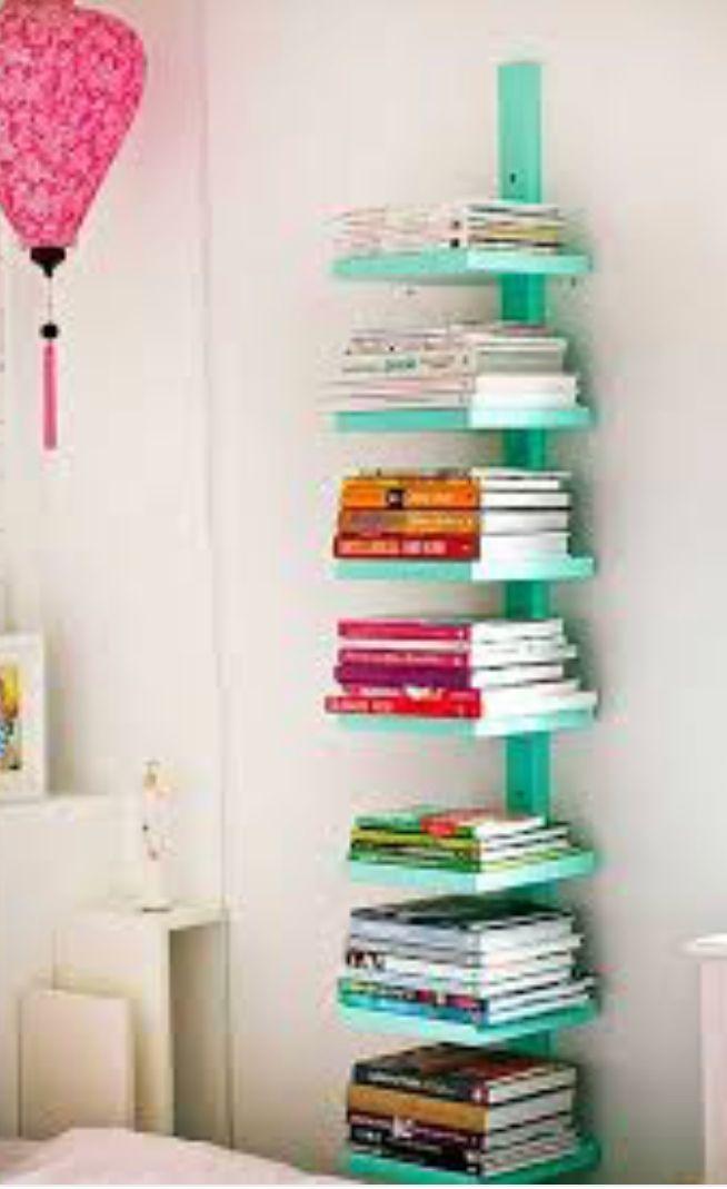 DIY Shelf Vertical Bookshelf Simple Ideas Creative Bookshelves Bedroom