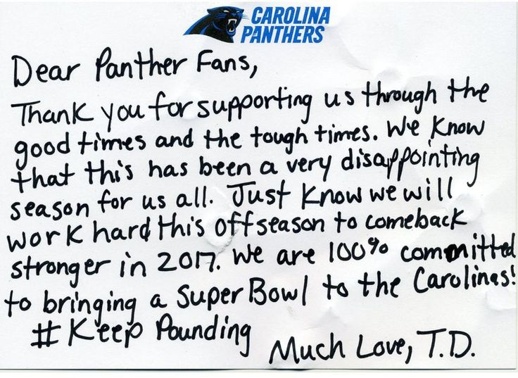 A message from Thomas Davis