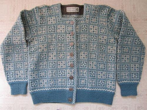 Husfliden Bergen Wool Sweater Handknitted in Norway