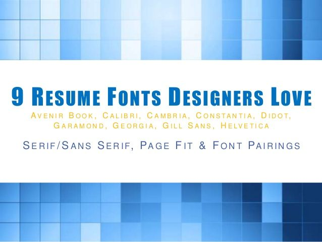 Best 25+ Resume fonts ideas on Pinterest Resume ideas, Create a - resume font size