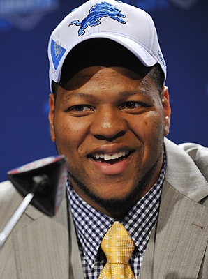 NFL Player Ndamukong Suh for the Detroit Lions donated 2.6 million. 2 million was donated to the Nebraska University athletic department and another 600 thousand to the University of Nebraska-Lincoln College of Engineering to endow a scholarship. It is the largest single gift ever from a former football player.