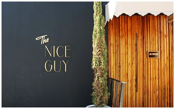 restaurant LA - The Nice Guy  the nice guy - designed by Sormeh Azad