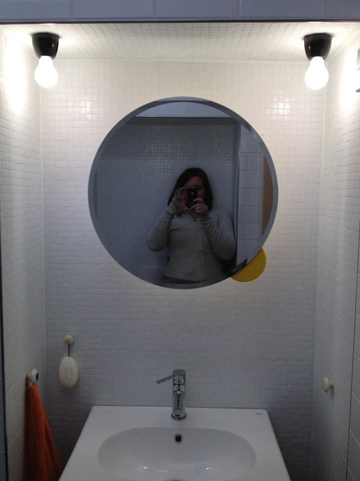 custom made bathroom cabinet...