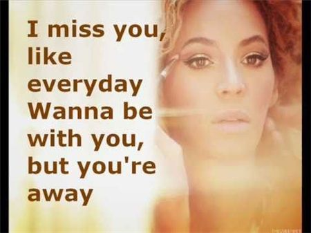 lyrics beyonce miss