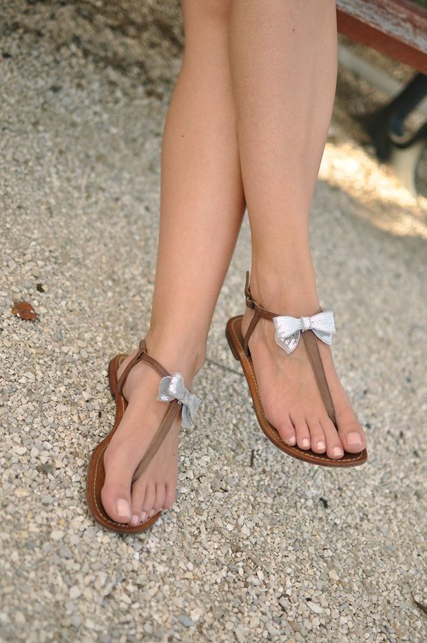 Chaussures - Sandales Post Orteils Raphaella De Booz ZvEZ6Kd