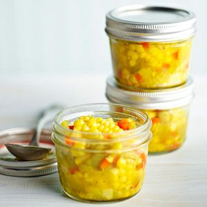 Blue Ribbon Corn Relish From Better Homes and Gardens, ideas and improvement projects for your home and garden plus recipes and entertaining ideas.