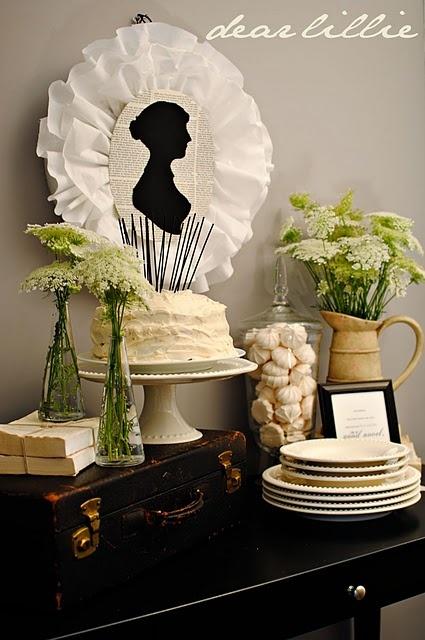 A Jane Austen themed party. What a 'novel' idea.